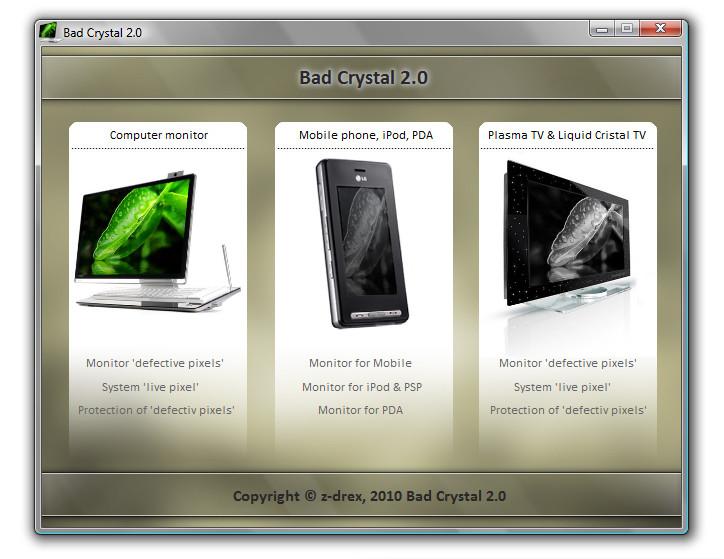 Bad Crystal 2.0 - восстановление дефектных пикселей.