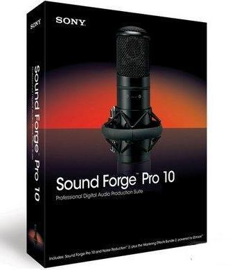 Sony Sound Forge Pro 10.0a Build 425 Portable (аудио-редактор)