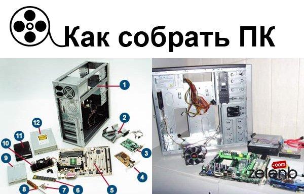 Своими руками собрать компьютер