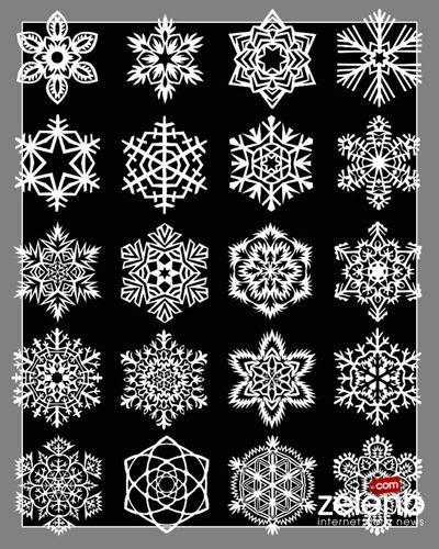 Снежинки из бумаги самые